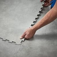 Pavimento LVT Forbo in piastre Allura Puzzle