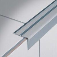 profilo per gradino in alluminio anodizzato