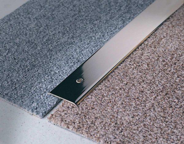 raccordo profilo in ottone per pavimento
