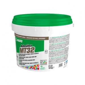 Mapei Adesilex MT32 colla per posa di rivestimenti murali, tessuti, carta.