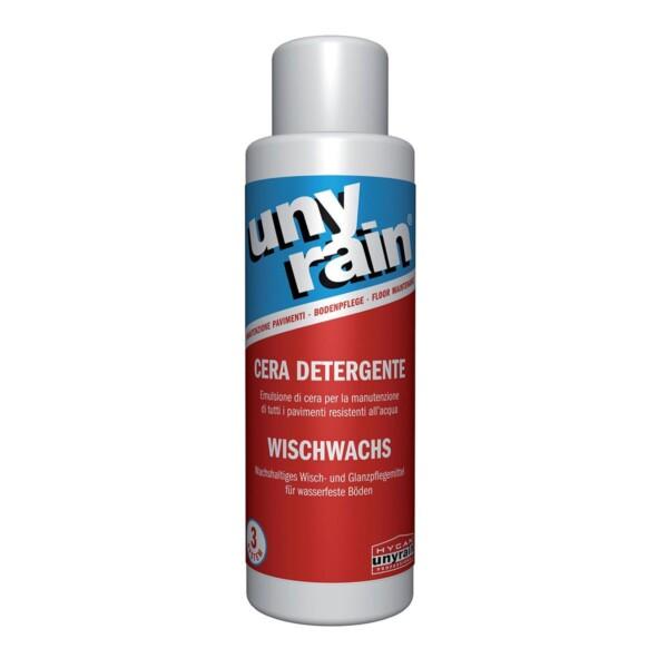 Unyrain cera detergente per pavimenti