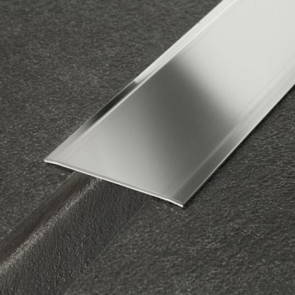 Coprigiunto profilitec in acciaio inox larghezza 6 cm e 10 cm