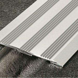 coprigiunto per pavimenti in alluminio anodizzato 8 cm