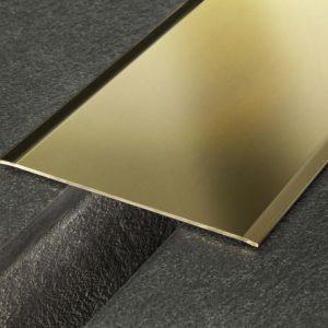 Coprigiunto in ottone lucido a barra da 2,70 m , larghezza 10 cm