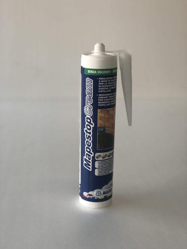 mapestop cream Mapei contro l'umidità di risalita