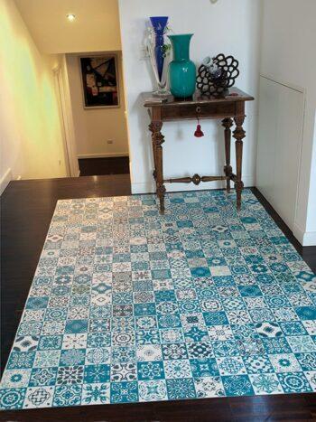 tappeto PVC colorato in stampa digitale