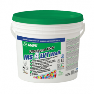 Mapei Ultrabond Eco MS4 LVT wall colla per posa LVT a parete